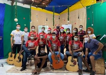 Projeto Vamos! Encantar apresenta a 1ª Live Natalina