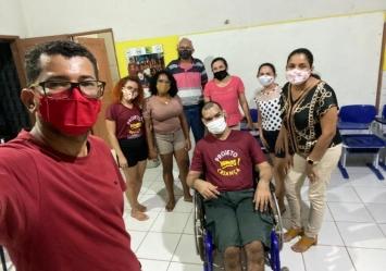 Parceria entre Associação Vamos! e a psicóloga Vilciele garante apoio aos educadores do Projeto Vamos!