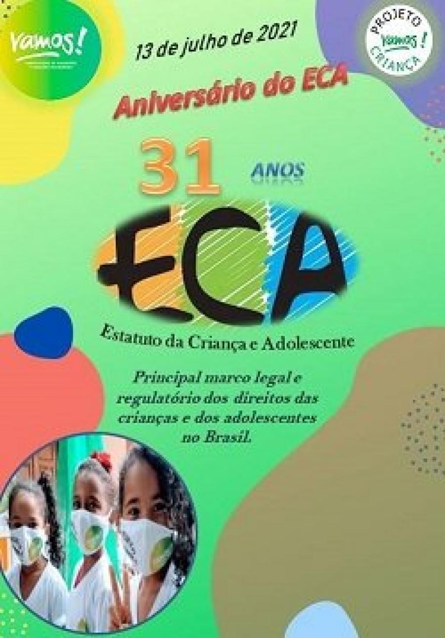 Aniversário de 31 anos do ECA