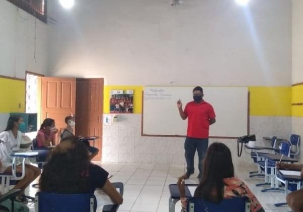 Trabalho Voluntario contribui com apoio no letramento matemático para Crianças do Projeto Vamos! Criança