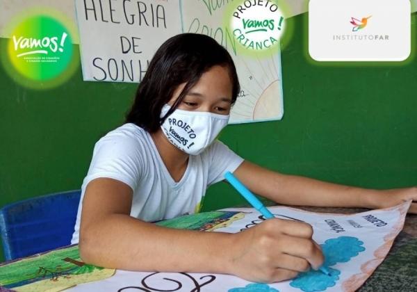 Parceria entre o Instituto FAR, e a Associação Vamos! contribui para a ampliar ações do Projeto Vamos! Criança.