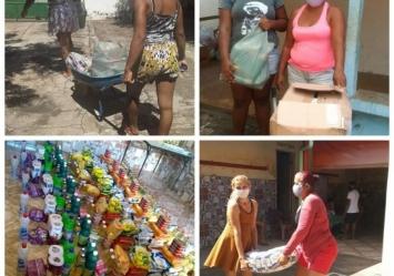 Associação Vamos! realiza a segunda etapa de distribuição de Cestas básicas e kits de higiene.