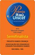 Selo do prêmio itaú unicef 2013