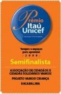 SELO DO PRÊMIO ITAÚ-UNICEF 2009