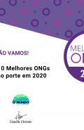 Certificado de reconhecimento das 10 Melhores ONGs de Pequeno Porte 2020